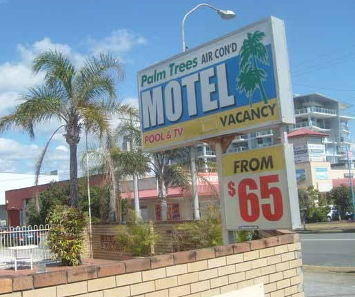 Palm Trees Motel - Tourism Caloundra