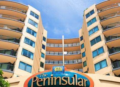 The Peninsular Beachfront Resort - Tourism Caloundra