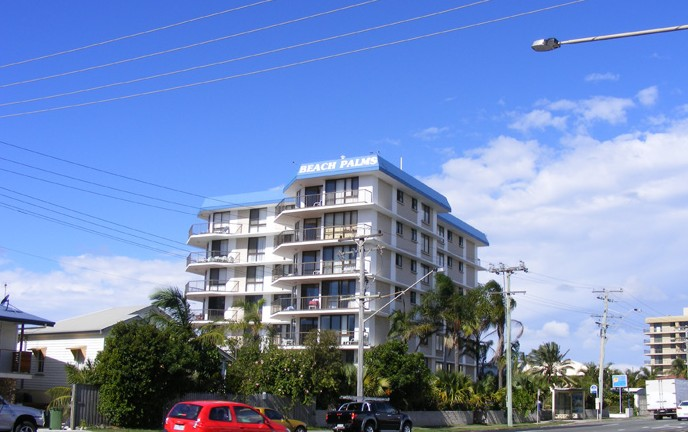 Beach Palms Holiday Apartments - Tourism Caloundra