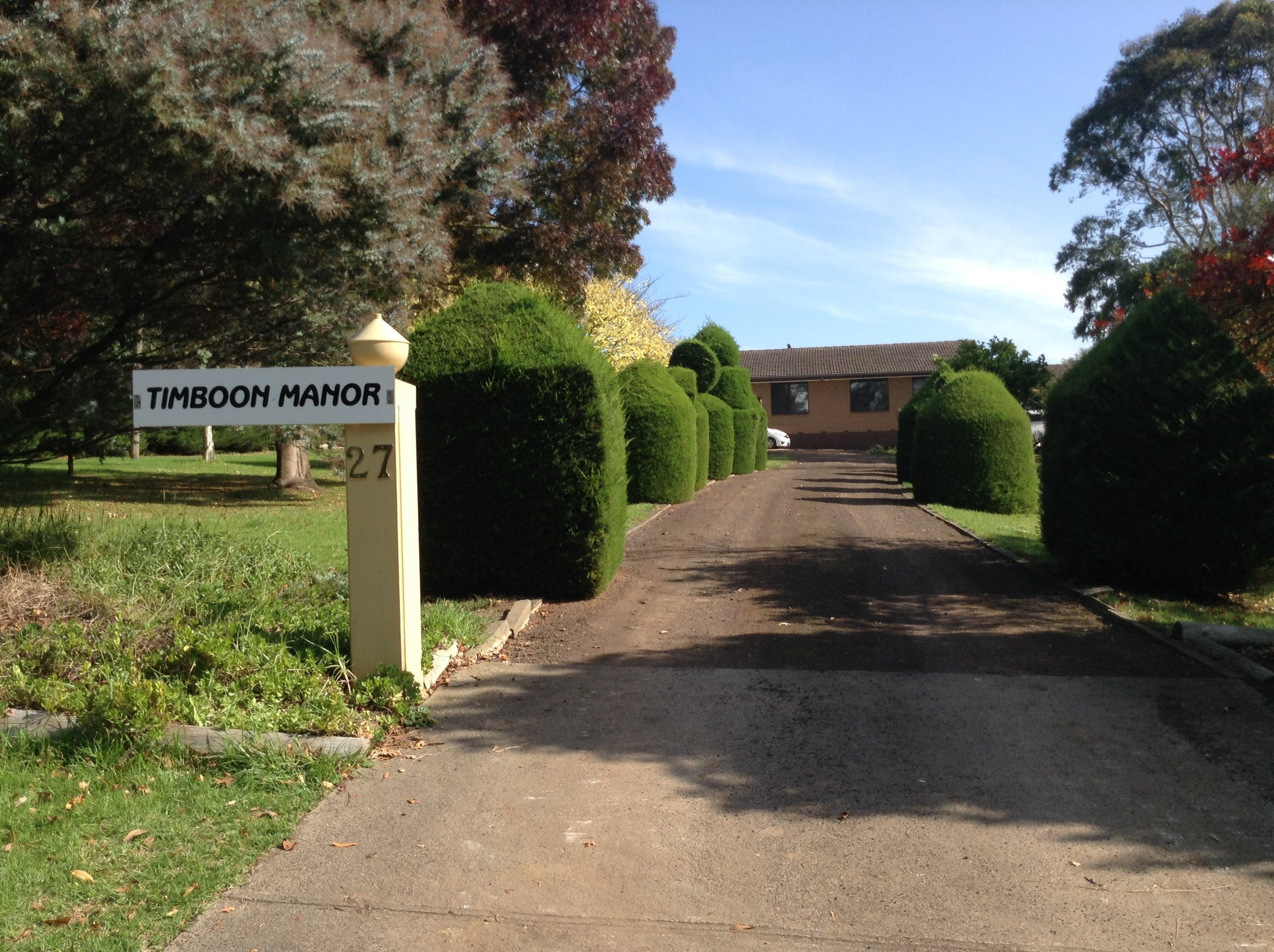 Timboon Manor - Tourism Caloundra