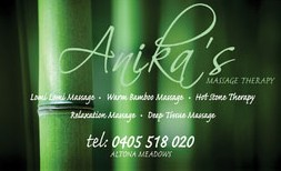 Anikas Massage Therapy - Tourism Caloundra