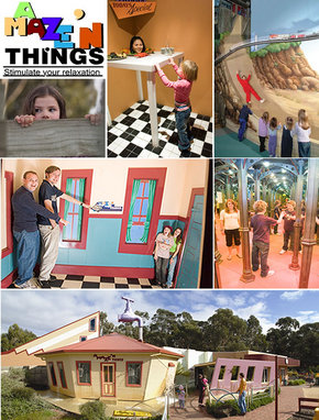 A Maze 'N Things - Tourism Caloundra