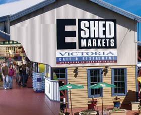 The E Shed Markets - Tourism Caloundra