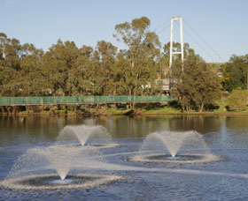 Suspension Bridge - Tourism Caloundra