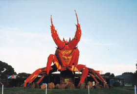 The Big Lobster - Tourism Caloundra