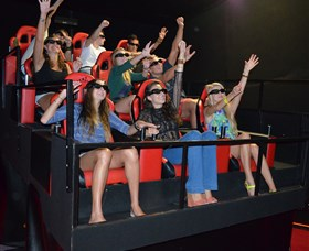 7D Cinema - Virtual Reality - Tourism Caloundra