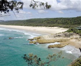 Main Beach, North Stradbroke Island
