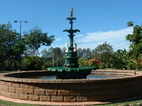 Band Rotunda and Fairy Fountain - Tourism Caloundra