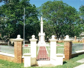 Boonah War Memorial and Memorial Park - Tourism Caloundra