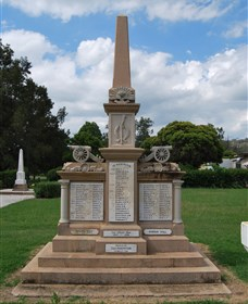 Boer War Memorial and Park Allora - Tourism Caloundra