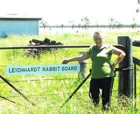 Morven Rabbit Board Gate - Tourism Caloundra