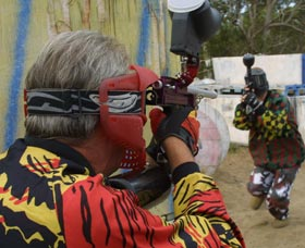 Paintball Skirmish - Tourism Caloundra