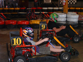 Indoor Kart Hire O'Connor - Tourism Caloundra