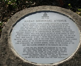Anzac Memorial Avenue, Redcliffe