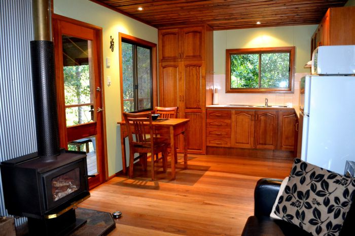 Waterfall Hideout-Rainforest Cabin for Couples - Tourism Caloundra