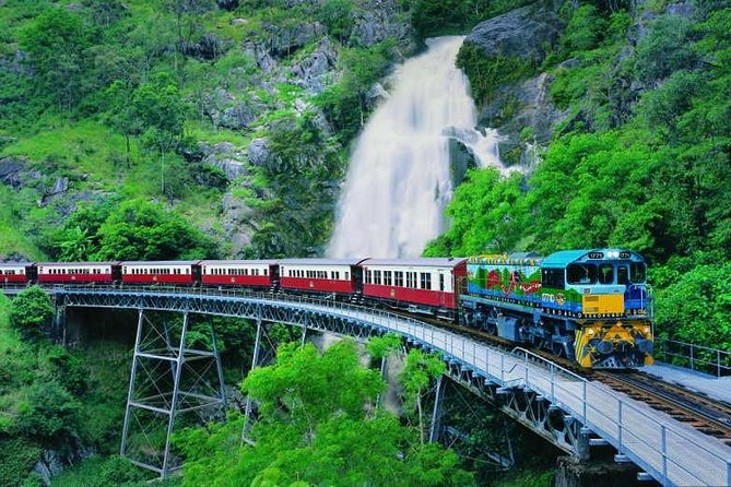 Full-Day Tour with Kuranda Scenic Railway Skyrail Rainforest Cableway and Hartley's Crocodile Adventures from Cairns - Tourism Caloundra