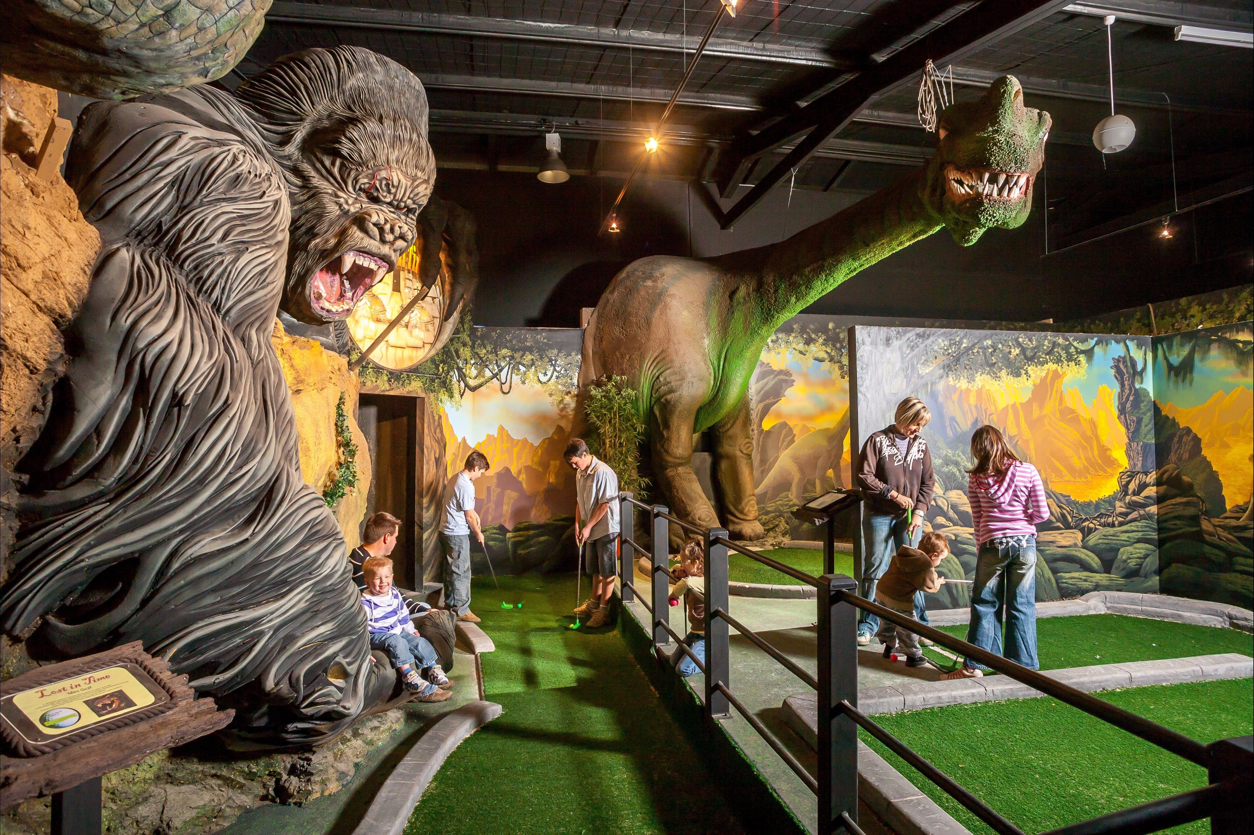 Gold Rush Mini Golf - Tourism Caloundra