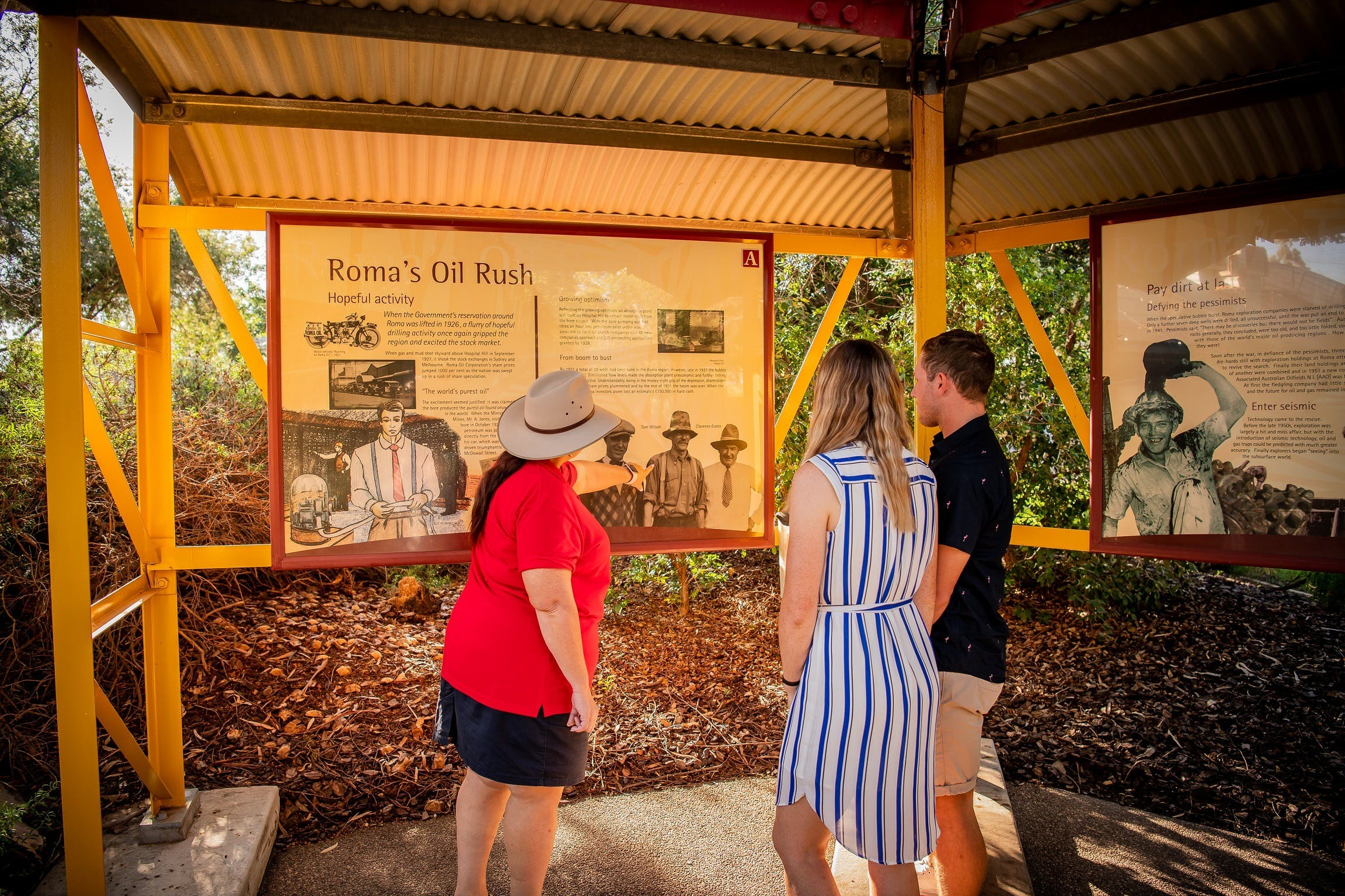 The Big Rig Oil Patch Guided Tour - Tourism Caloundra