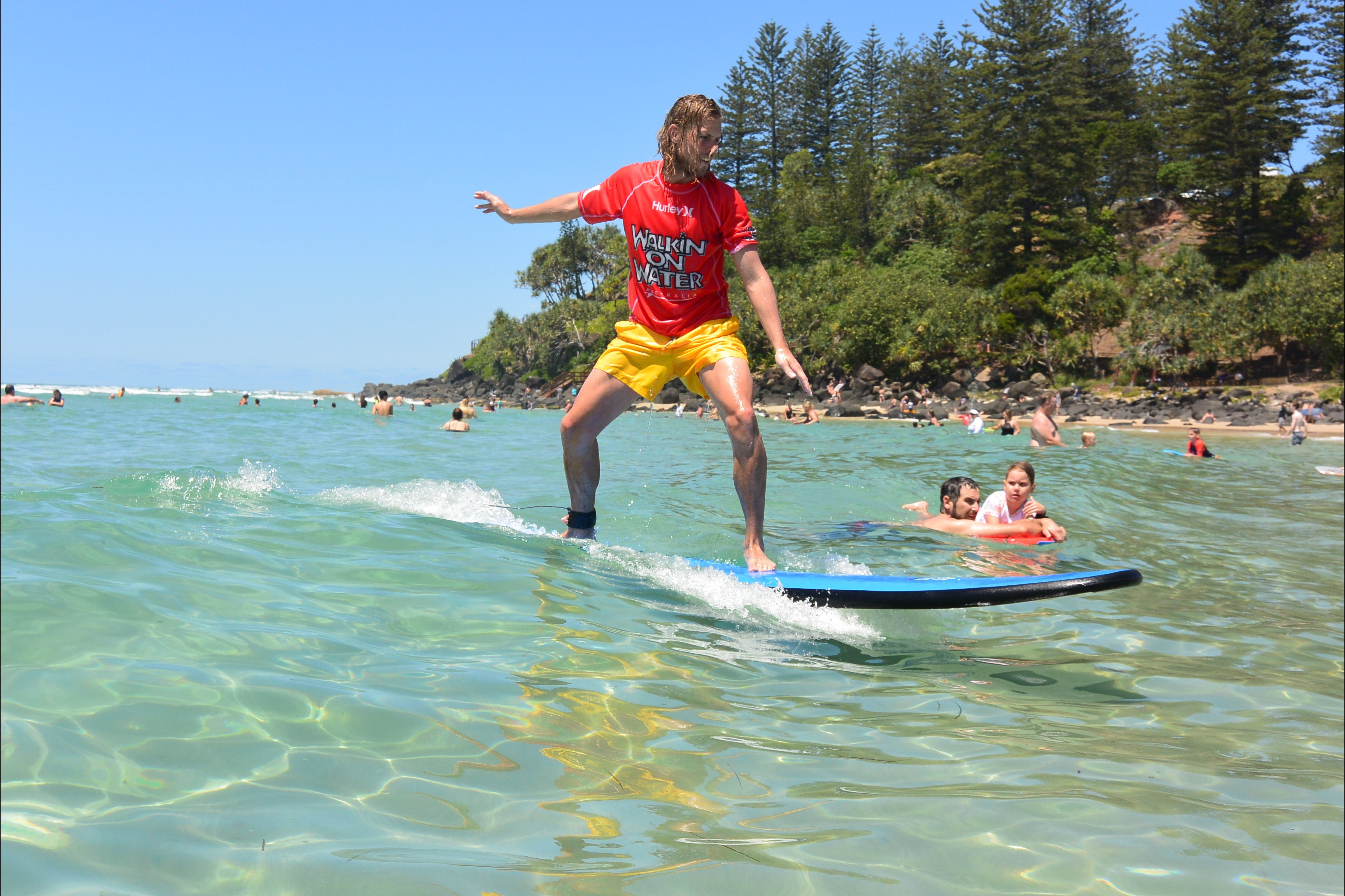 Walkin' On Water Surf School - Tourism Caloundra