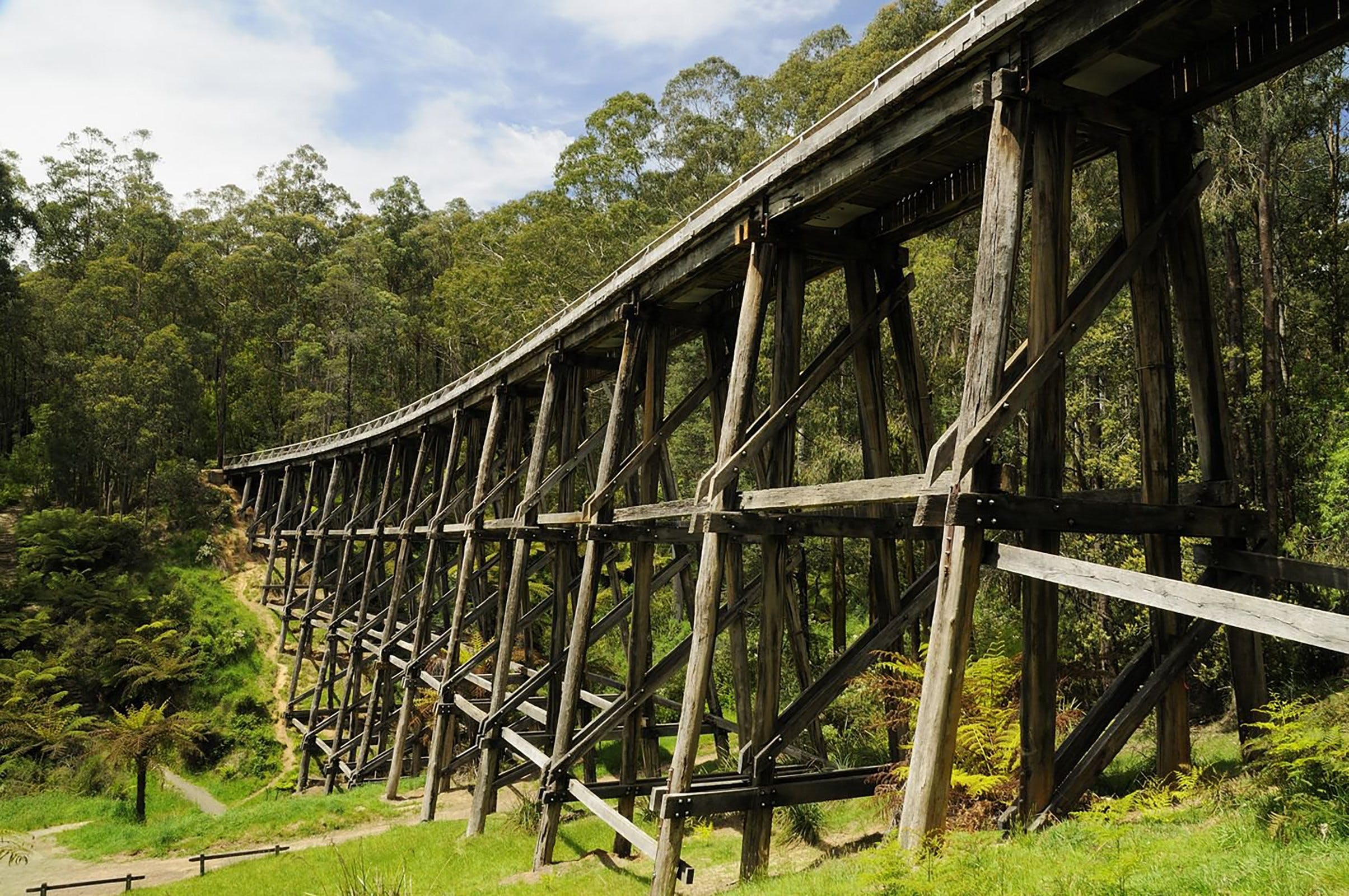 Noojee Trestle Bridge - Tourism Caloundra