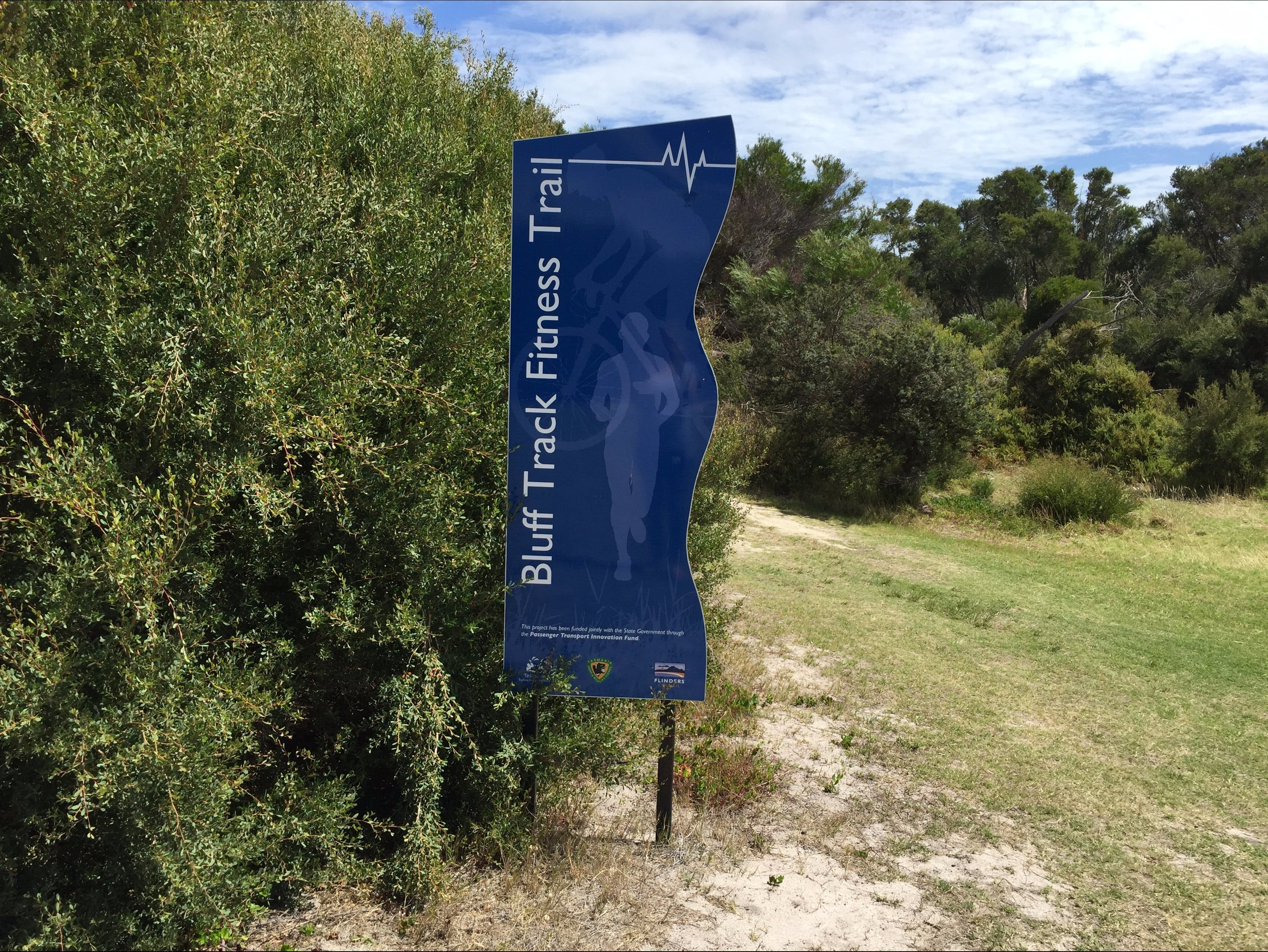 Bluff Track Fitness Trail - Tourism Caloundra