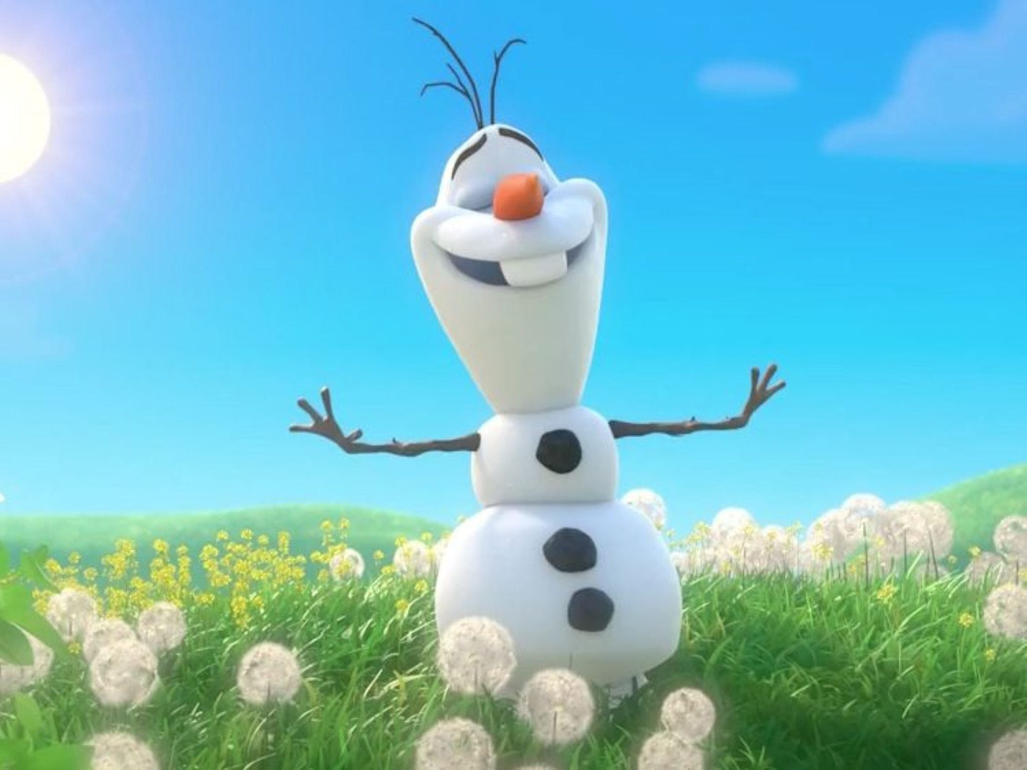 Meet Olaf from Frozen - Tourism Caloundra