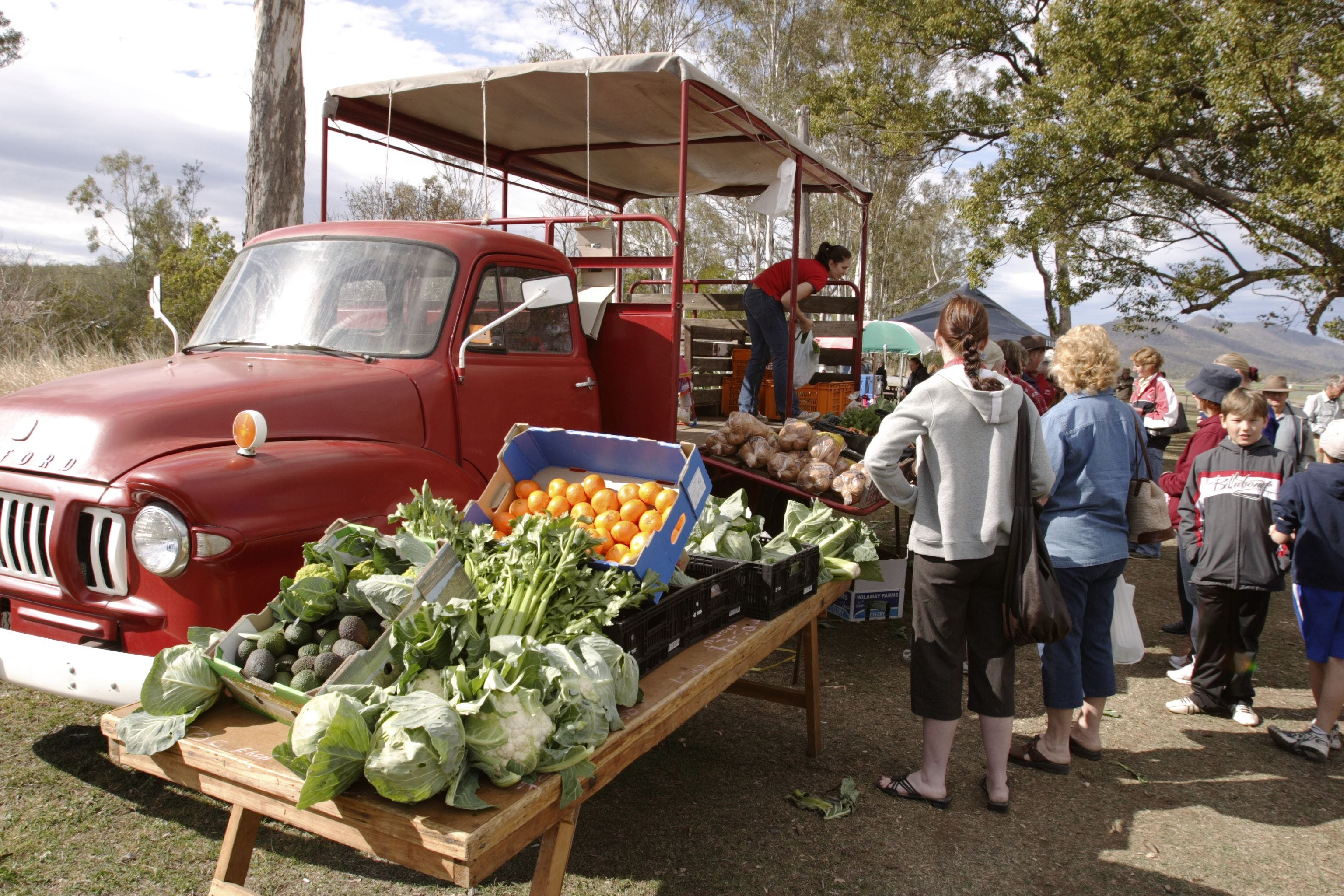 Murphys Creek Markets - Tourism Caloundra
