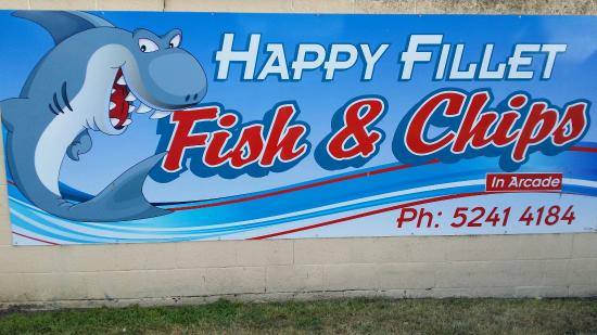 Happy Fillets Fish  Chip Shop - Tourism Caloundra