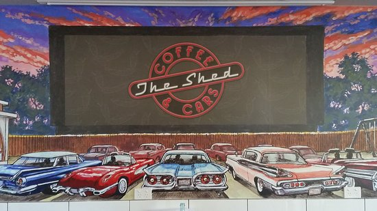 The Shed Coffee And Cars - Tourism Caloundra