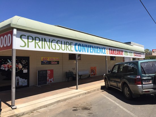 Springsure Convenience  Takeaway - Tourism Caloundra